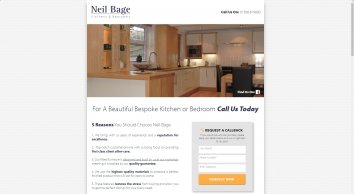 Neil Bage Kitchens & Bedrooms | Designed & Handmade Fitted Furniture • Spennymoor, Co. Durham