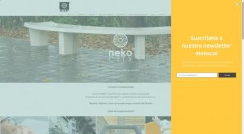 Diseño Neko México | Mobiliario urbano