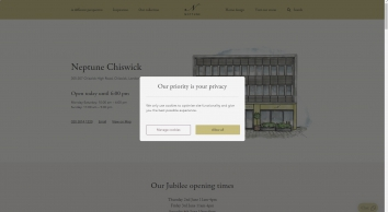 Furniture Shop & Kitchen Showroom In Chiswick, West London | Neptune