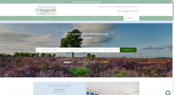 Holiday Cottages Milford on Sea, New Forest