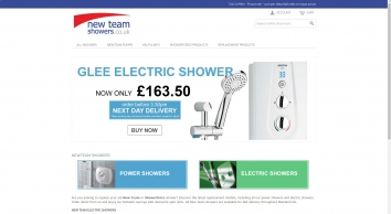 Home Page | New team Showers - The power to boost your shower