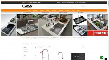Franke UK - Kitchen Sinks & Taps | Nexus Showroom