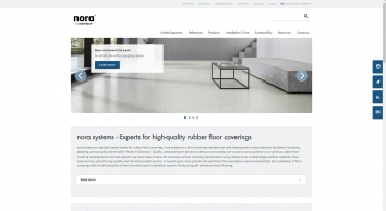 Rubber floor coverings and floor covering systems