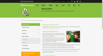 Reuse Shops - Norfolk Recycles