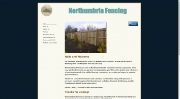 Northumbriafencing