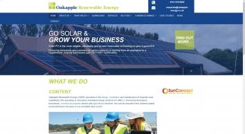 Oakapple | Solar Installation Specialists