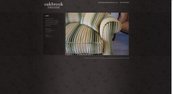 Oakbrook Upholstery - Upholsterers - Sheffield, Rotherham, Dronfield and the Surrounding Areas