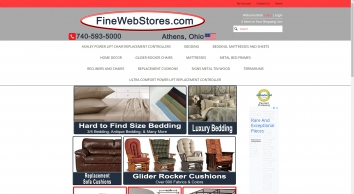 FineWebStores.com  - Internet Shopping made easy with this customer friendly Online Store.