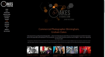 Advertising Photographers Birmingham, Advertising Photographer Graham Oakes in Birmingham