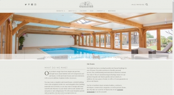 Bespoke Oak Framed Buildings, Oak Houses and Oak Extensions - Oakmasters