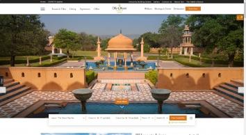 5 Star Luxury Hotels in Jaipur| Oberoi Rajvilas Resort near Goner Road Jaipur