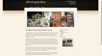 Antique Oak Furniture in Kent : Old English Pine 01303248560