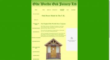 Olde Worlde Oak Joinery