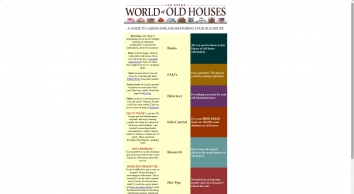 IAN EVANS WORLD OF OLD HOUSES