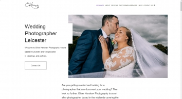 Wedding Photographer Leicester - Oliver Kershaw Photography