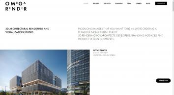 Design & Architectural Visualization — OMEGA RENDER