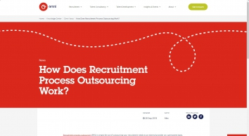 Omni RMS - How Does Recruitment Process Outsourcing Work?