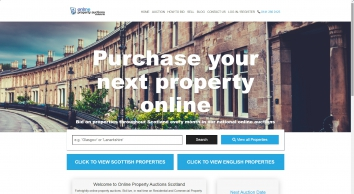 Online Property Auctions Scotland Limited Estate Agents in Glasgow
