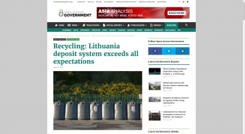 Recycling: Lithuania deposit system exceeds all expectations