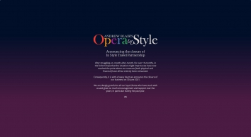 Opera In Style