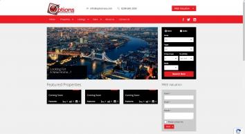 Options Estate Agents UK