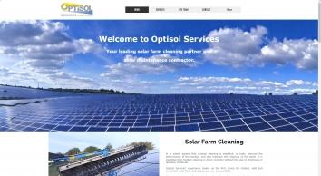 OPTISOL SERVICES   Solar Farm Cleaning   United Kingdom