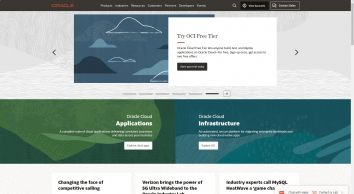 Oracle United Kingdom | Integrated Cloud Applications and Platform Services