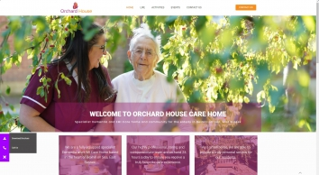 Orchard House Bexhill-on-sea, Dementia Residential Care Home and Nursing