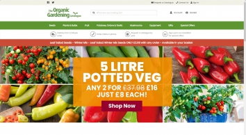 The Organic Catalogue for your Organic Gardening Seeds and Plants
