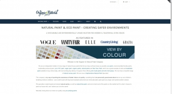 Natural Paint & Eco Paint Specialists - Helping you create better air quality in your home