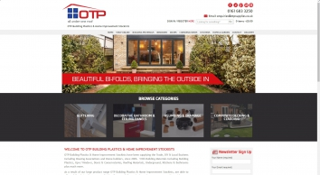 OTP BUILDING PLASTICS & HOME IMPROVEMENT STOCKISTS - Fascias & Soffits, UPVc Products, Windows, Doors, Kitchens & Roofing Products Oldham : OTP Supplies