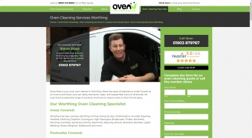 Oven Cleaning Worthing | Worthing & West Sussex Oven Cleaners