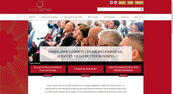 Owen James Events Homepage