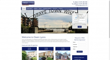Owen Lyons, Grays - Sales