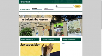 The Oxfordshire Museum