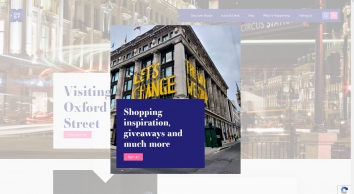 Shop London, exclusive offers for Oxford Street shops