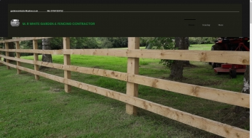 ABC Gardening - M.R White Garden Contractor - Fencing,Turfing,Paving,Paddock maintenance, Oxfordshire, Witney