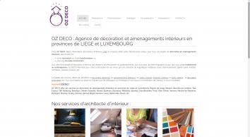 Nancy RAEMAKERS - OZ DECO - Liege Luxembourg