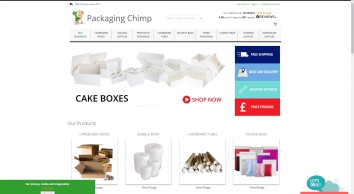 Packaging Chimp | Cardboard | Tubes | Paper | Polythene