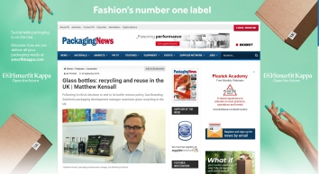 Glass bottles: recycling and reuse in the UK | Matthew Kensall