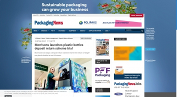 Morrisons launches plastic bottles deposit return scheme trial