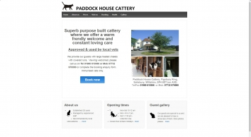 Paddock House Cattery