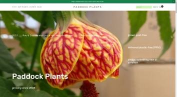 Paddock Plants