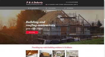 Quality building works by P & A Doherty Builders of Hertfordshire