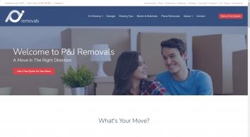 P & J Removals