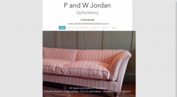 P & W Jordan Upholstery