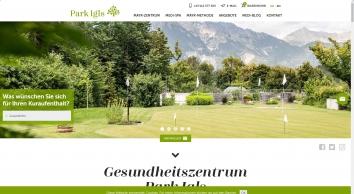 Park Igls - Gesundheit im Zentrum - Gesundheitszentrum in Tirol: F. X. Mayr-Zentrum Österreich