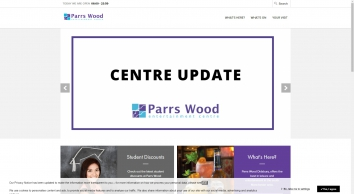 Parrs Wood Entertainment Centre   Parrs Wood Entertainment Centre Didsbury offers the best in leisure and entertainment in the south Manchester