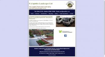 P A Spittles Landscapes Ltd