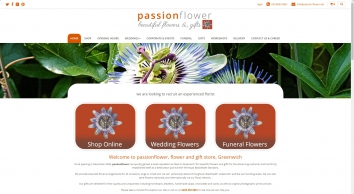passionflower | flower and gift store in Greenwich
